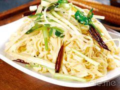 韩味园果木炭烤鲜肉(陵东店)的炝拌干豆腐