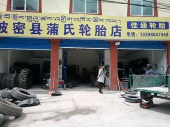 波密县蒲氏轮胎店