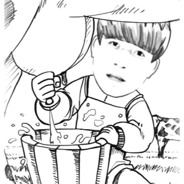 动漫 简笔画 卡通 漫画 手绘 头像 线稿 638_640