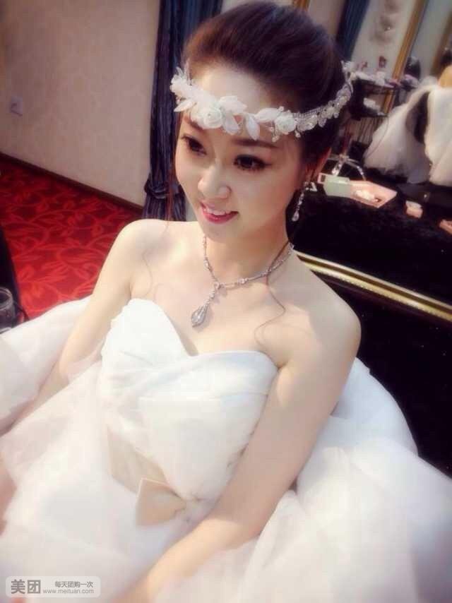 素颜新娘图片大全