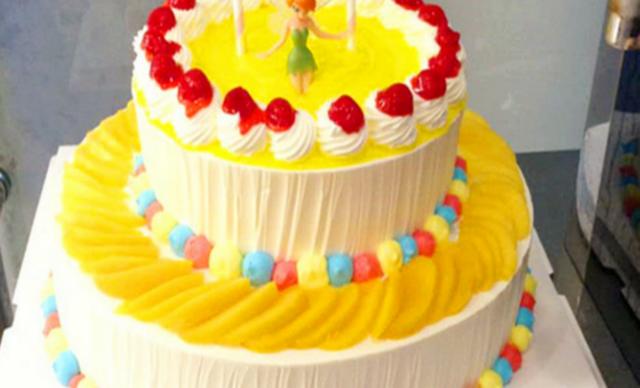:长沙今日团购:【澳泽烘焙】双层蛋糕1个,约20英寸,圆形