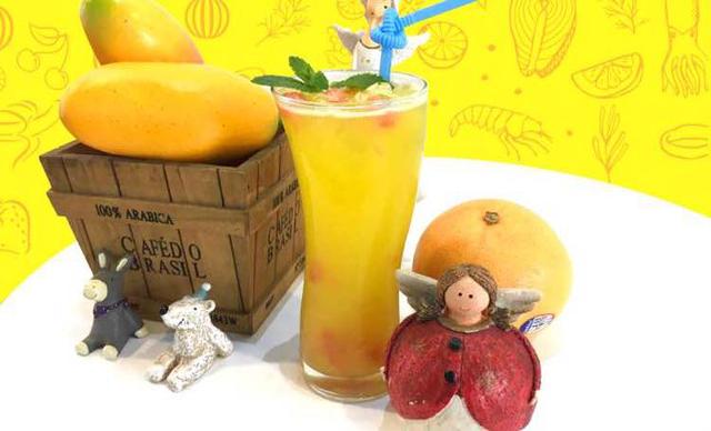 :长沙今日团购:【one cup】氧气西柚芒1份,提供免费WiFi