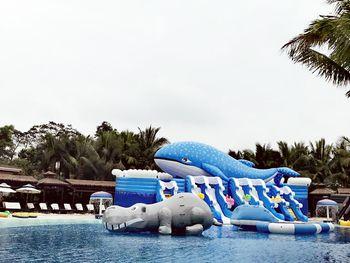 【龙华区】海口观澜湖温泉度假酒店动物星球主题水上乐园门票儿童票-美团