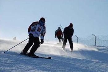 【金石滩】唐风滑雪场-美团