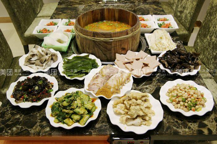 【兰州正红木桶鱼团购】正红木桶鱼6-8人餐团购|图片