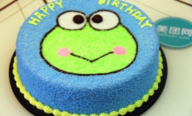 【哆唻咪diy蛋糕坊】6寸青蛙王子1个,约6英寸,圆形