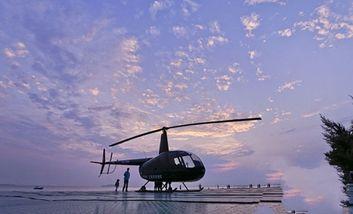 【三亚湾】三亚湾直升飞机体验-美团