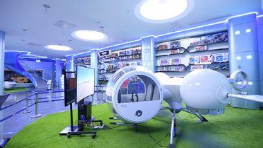 【涉外经济学院】长沙飞行体验馆太空精灵套票成人票-美团