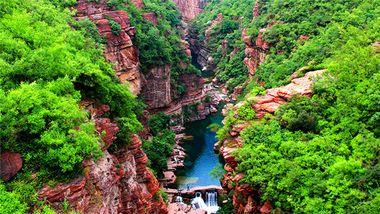 【潍坊出发】云台山地质公园、红石峡、净影风景区等3日跟团游-美团