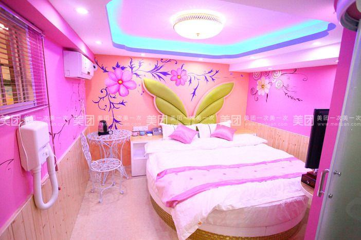 欧式圆床房