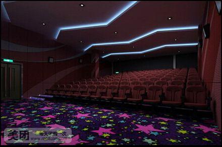 时代嘉纳电 影城位于鹤岗比优特时代广场四层,总投资额逾2000万元,总