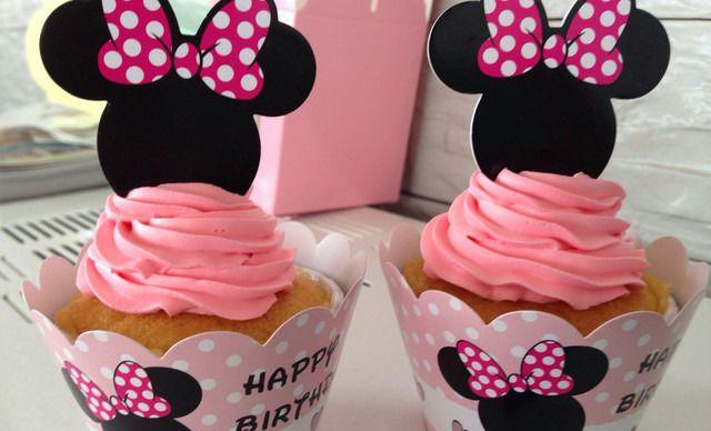 凯可莉杯子蛋糕可爱米妮