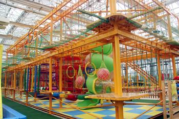 【植物园/金融学院】电谷城市低碳公园久玩小嘉园半年季卡儿童票-美团