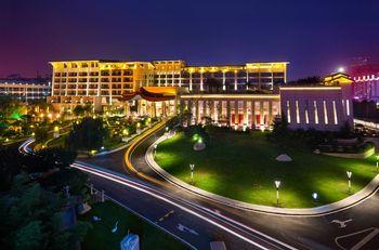 【芷阳湖】华清爱琴海国际温泉酒店(亲子温泉票1大1小)-美团