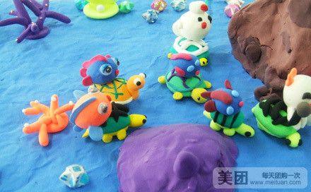diy太空泥偶制作:小朋友们的作品