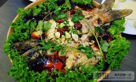 拌蕨根粉   铁板包浆豆腐   黄金小馒头   果汁   香辣九寨沟老碗鱼   美团图片