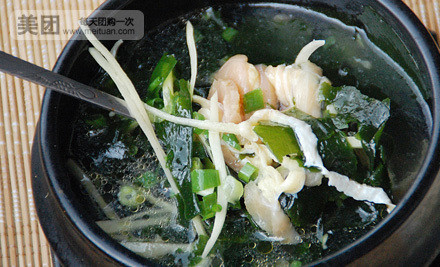 海带鸡肉汤