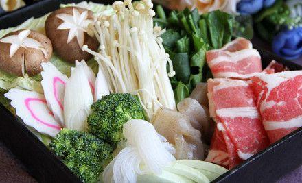 和牛御品寿喜锅:单人自助午餐,节假日通用,免费停车