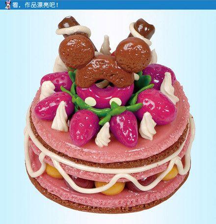 价值58元的迪士尼创意彩泥玩具1盒,可爱小蛋糕/脆脆饼干2选1,2盒及