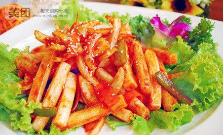 中山东路大长今正宗韩国料理4人餐 | 美团网石