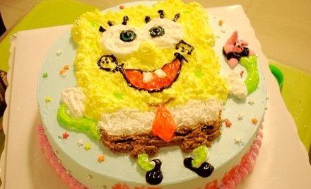 8寸DIY蛋糕,节假日通用