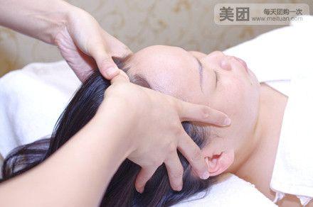 背部肩颈舒穴调理按摩→背部刮痧→背部拔罐