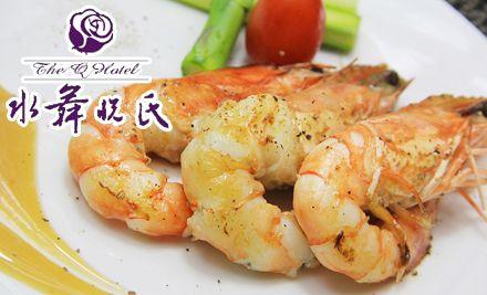 自助午餐/晚餐2选1,有海鲜,有烤肉,现点现做,任点任吃
