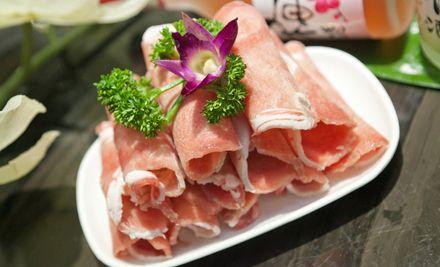 单人自助烧烤,午餐/晚餐2选1,含海鲜