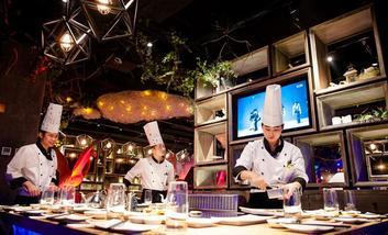 【北京】水木锦堂铁板烧自助餐厅-美团