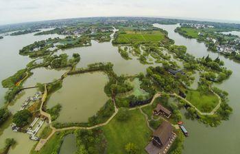 【长兴县】图影生态湿地文化园门票+船票(成人票)-美团