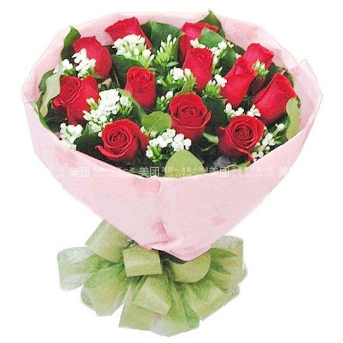 关于包装和配饰:花束均为手工制作