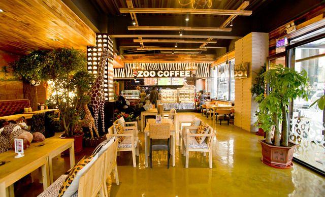 【朝阳区】zoocoffee卓展店动物园咖啡
