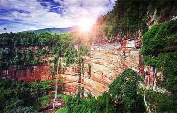 【成都出发】赤水大瀑布、佛光岩、赤水白马溪等3日跟团游*参观玻璃桥,避暑耍水-美团