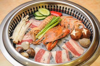 【长沙】牛太郎自助烤肉海鲜火锅-美团