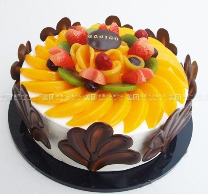 美食团购 甜点饮品 蜜小糖烘焙坊   黑贝壳规格:约8 英寸 1,圆 黑色