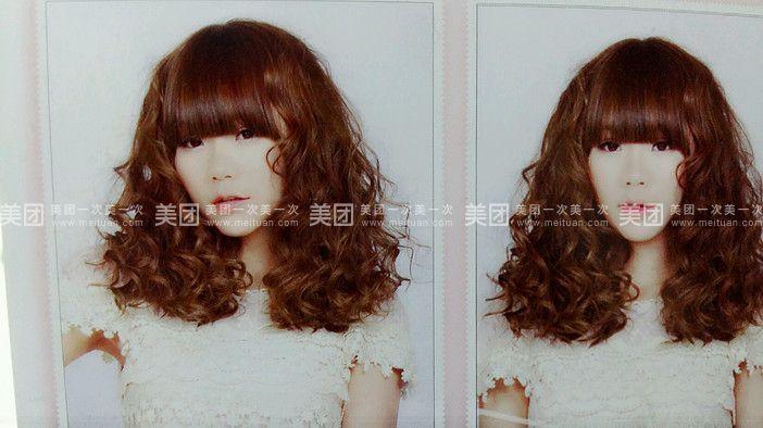 染发类型:不含染发 超值洗剪烫服务流程/时长:洗发~剪发~烫发~造型