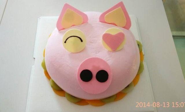 00门店价 ¥148 猪头蛋糕1个,约8英寸,圆 ¥ 68.
