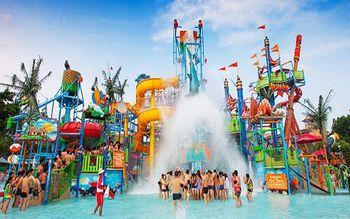 【安国市】豐盈水上乐园周末节假日4小时门票(成人票)-美团