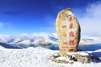【拉萨出发】羊卓雍措、卡若拉冰川、扎什伦布寺2日跟团游*羊湖 后藏日喀则-美团
