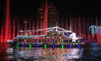 【城中区】瑞通游船(东堤旅游码头)三号船19:40十人门票团队票-美团