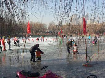 平旺公园平旺湖滑冰场