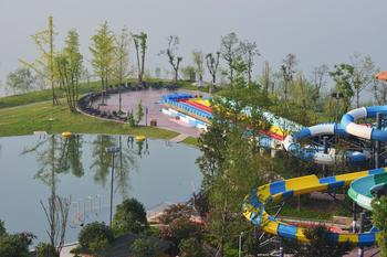 【大竹县】海明湖温泉水世界6月儿童月儿童票-美团