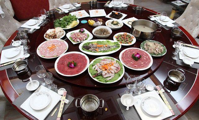 【桃源建议火锅】诗歌酒楼,山庄10-12人感恩,使用套餐小学生关于的图片