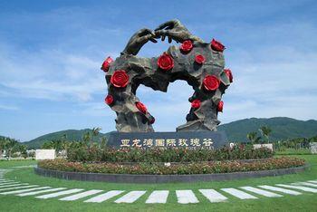 【亚龙湾】亚龙湾国际玫瑰谷成人门票+游览车票-美团