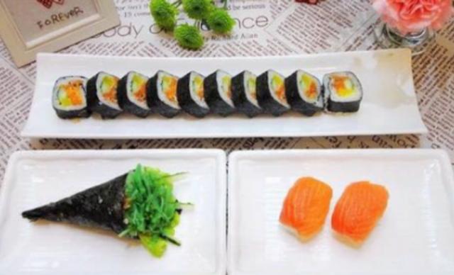 :长沙今日团购:【鲜目录熟料寿司】15元代金券1张,全场通用,可叠加使用