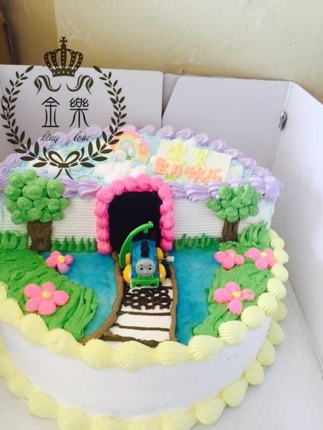 可爱3d卡通蛋糕e款