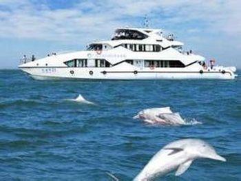 【海城区】北海观光环岛游港务局码头游船成人票-美团