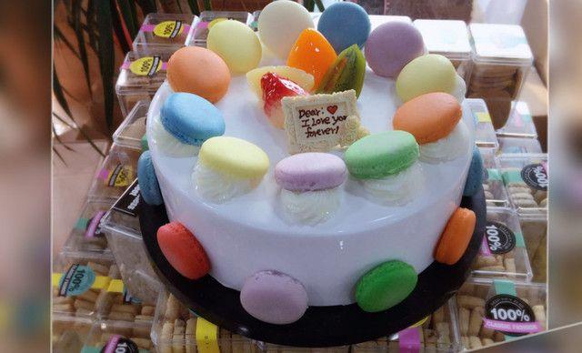 【同利蛋糕】至尊马卡龙(贵族蛋糕)1个,约8英寸