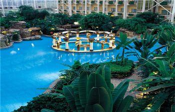 【大兴区】龙熙温泉度假酒店周末套票(亲子票2大1小)-美团