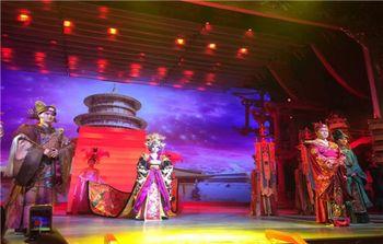 【南稍门】唐乐宫《大唐女皇》演出票+豪华宫廷宴票(成人票)-美团